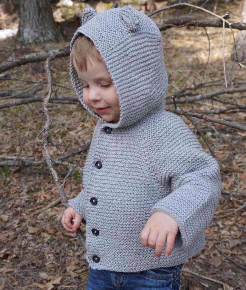 Teddy Bear Cardigan Pattern